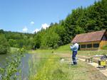 """Mai 2006 Unser Wolferl (bekannt aus der Geschichte """"Wolfi-Loch""""im Drill"""