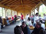 2005 In Fürstenfeld Verabschiedung der Teilnehmer.