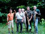 Prigglitz 2003 Unsere Gruppe.Noch frisch vor Beginn!