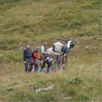 LM Planneralm 2006 Fred und Angies Gruppe beim Scoren.