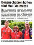 """""""Die Woche"""",eine unserer Regionalzeitungen ehrte uns kürzlich mit diesem Artikel."""