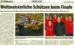 Zurück aus SOPRON 2006 Nach der Rückkehr von der WM in Sopron  folgten wir der Einladung unseres Bürgermeisters (Bildmitte).