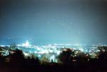 Fürstenfeld bei Nacht.
