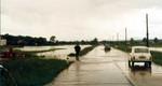 Ca.1970-72 Die B65 vor Fürstenfeld überschwemmt. Wer erinnert sich noch?