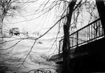 Das war sie, die alte Brücke unmittelbar vor der Schalkmühle. Ein Eisstoß brachte sie zum Einsturz.