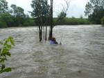 Das ist unser Angelplatz.Egal ob Hochwasser oder nicht,hier wird geangelt!!